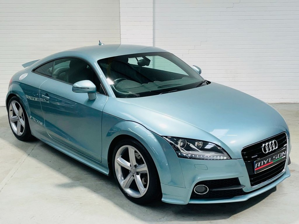 USED 2011 11 AUDI TT 2.0 TDI QUATTRO S LINE 2d 170 BHP Exclusive Paint Full Audi History 1 Owner Sat Nav BOSE