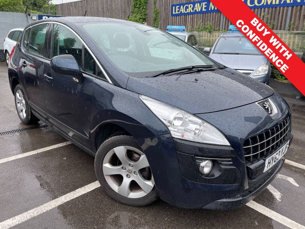 USED 2013 63 PEUGEOT 3008 1.6 E-HDI ACTIVE 5d 115 BHP COMES WITH FRESH 12 MONTH MOT