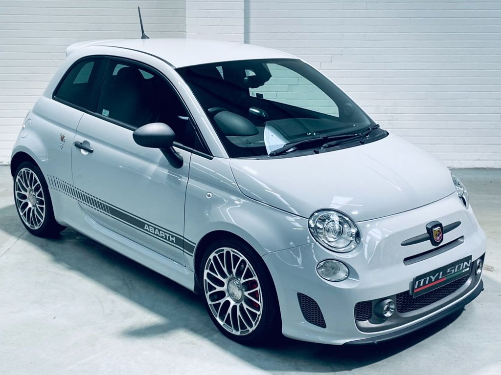 USED 2014 64 ABARTH 500 1.4 ABARTH 595 COMPETIZIONE 3d 160 BHP Campolovo Grey|Sabelt Race Seats|AA Inspected|FINANCE