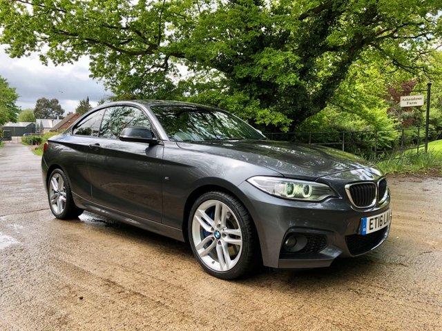 2016 16 BMW 2 SERIES 2.0 220D XDRIVE M SPORT 2d 188 BHP
