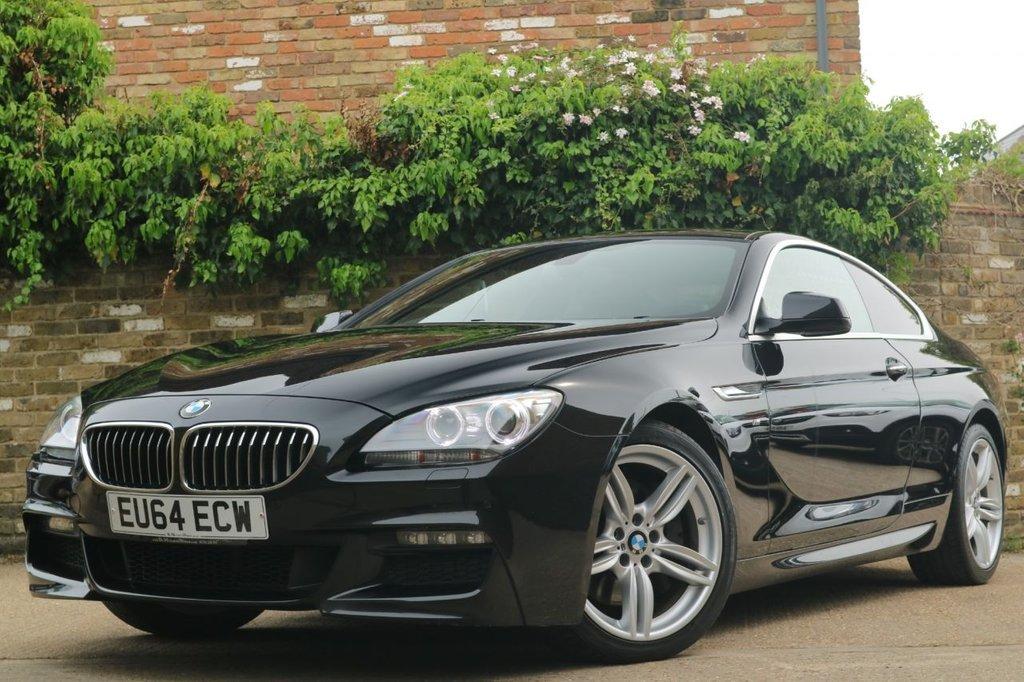 USED 2014 64 BMW 6 SERIES 3.0 640D M SPORT 2d 309 BHP COMFORT ACCESS +NAVIGATION