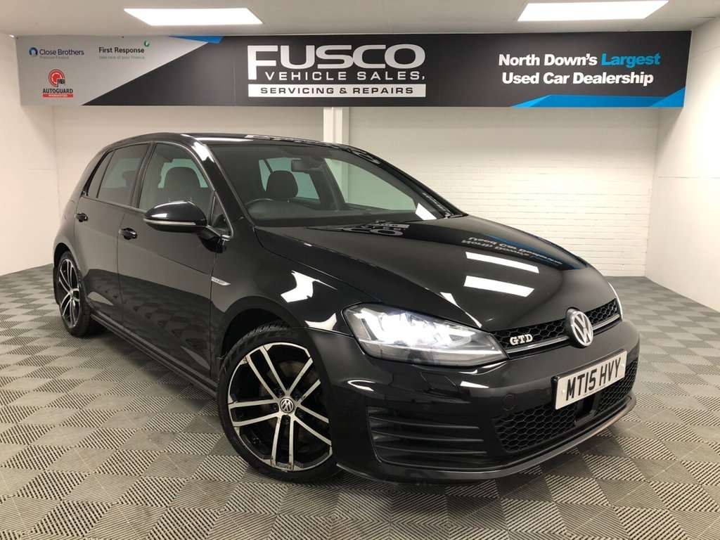 USED 2015 15 VOLKSWAGEN GOLF 2.0 GTD 5d 181 BHP NATIONWIDE DELIVERY AVAILABLE!