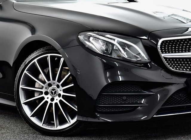 USED 2017 17 MERCEDES-BENZ E-CLASS 2.0 E220d AMG Line (Premium) G-Tronic+ (s/s) 2dr £44k New, F/MB/S/H, Pan Roof +