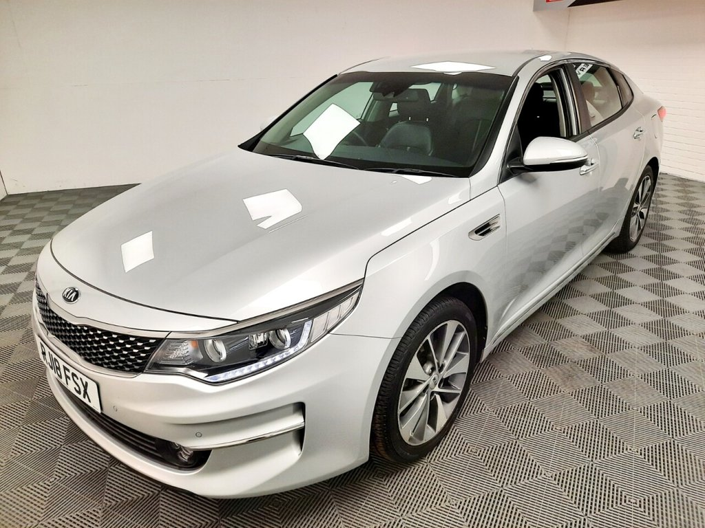 USED 2018 18 KIA OPTIMA 1.7 CRDI 3 ISG 4d 139 BHP AUTOMATIC NATIONWIDE DELIVERY AVAILABLE!