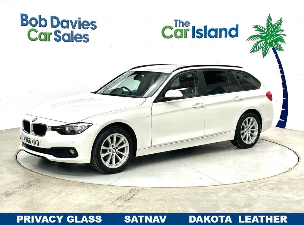USED 2017 66 BMW 3 SERIES 2.0 318D SE TOURING 5d 148 BHP Full Leather SATNAV Parking Sensors only 34000 miles