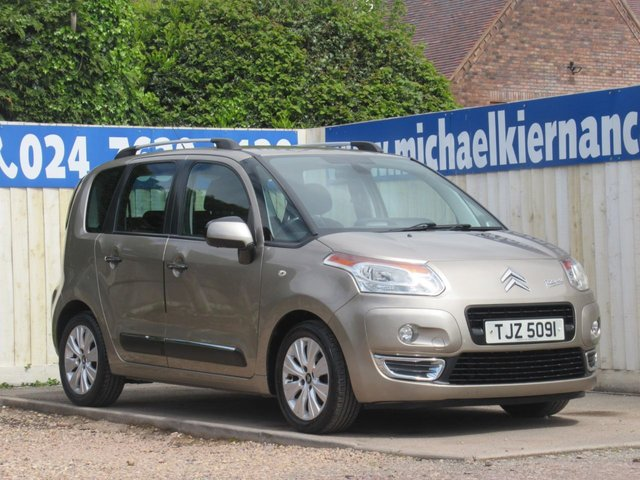 USED 2012 CITROEN C3 PICASSO 1.6 EXCLUSIVE HDI 5d 90 BHP FSH X8 STAMPS