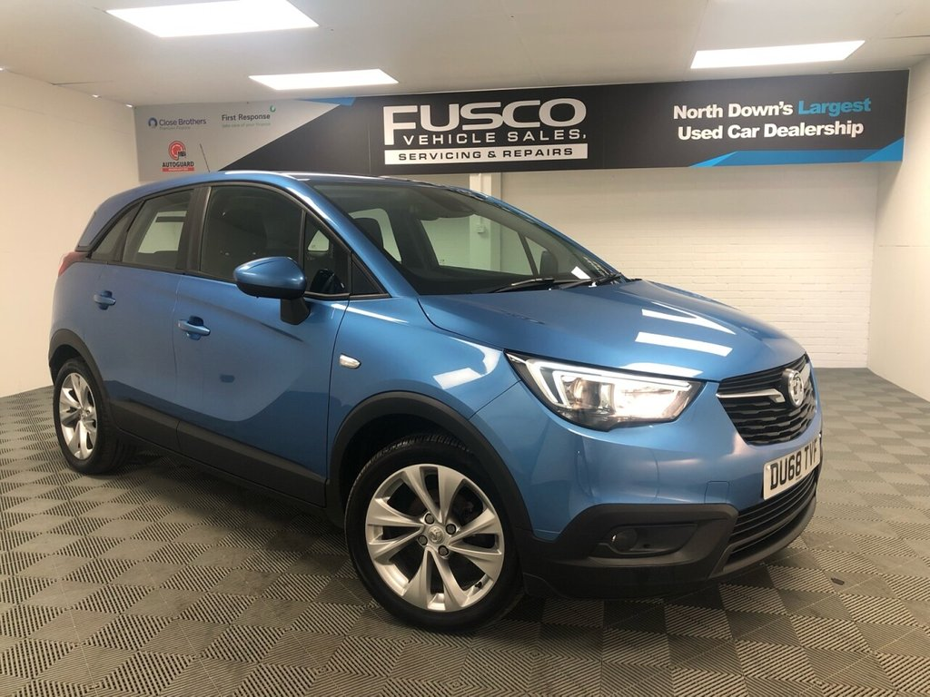USED 2018 68 VAUXHALL CROSSLAND X 1.2 SE 5d 80 BHP NATIONWIDE DELIVERY AVAILABLE!