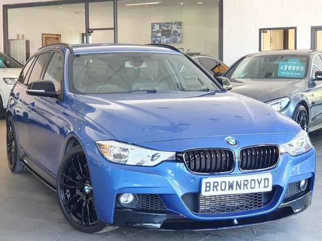 USED 2015 15 BMW 3 SERIES 3.0 335D XDRIVE M SPORT TOURING 5d 309 BHP BM PERFORMANCE STYLING+6.9%APR