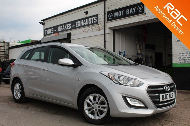 USED 2017 17 HYUNDAI I30 1.6 CRDI SE BLUE DRIVE 5d 109 BHP VIEW AND RESERVE ONLINE OR CALL 01527-853940 FOR MORE INFO.
