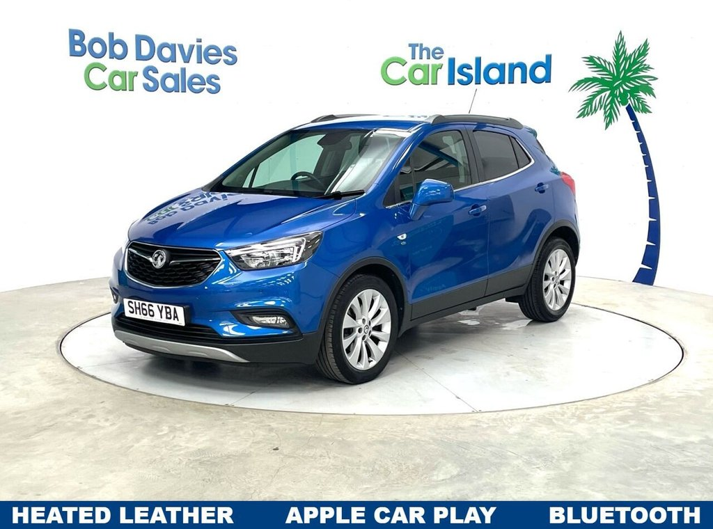 USED 2016 66 VAUXHALL MOKKA X 1.4 ELITE 5d 138 BHP Full Leather Connected Apps Parking Aid 42000 miles