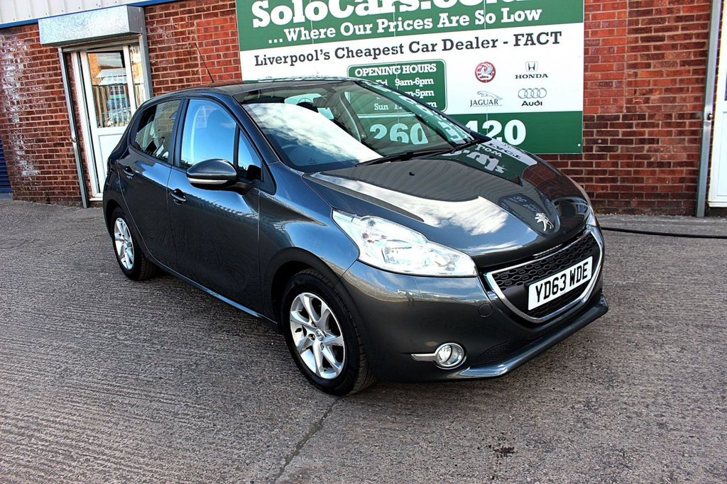 USED 2013 63 PEUGEOT 208 1.2 ACTIVE 5d 82 BHP +BLUETOOTH DAB +CRUISE CONTROL