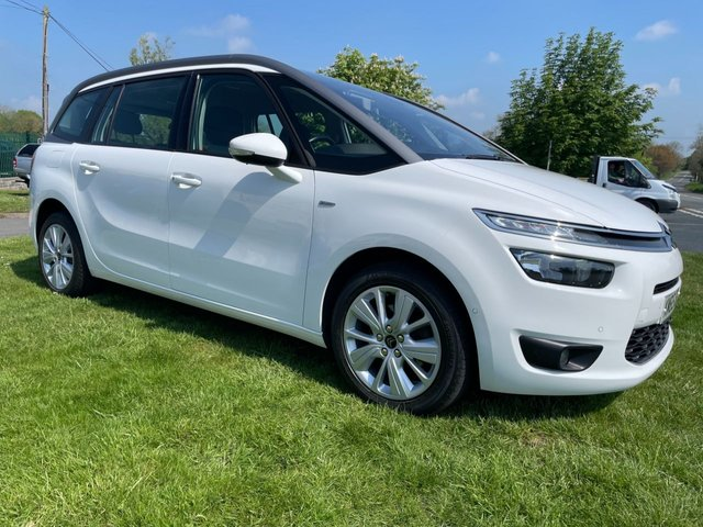 USED 2015 65 CITROEN C4 GRAND PICASSO 2.0 BLUEHDI EXCLUSIVE 7 SEATS �£20 ROAD TAX