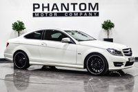 USED 2011 61 MERCEDES-BENZ C-CLASS 1.8 C180 BLUEEFFICIENCY AMG SPORT EDITION 125 2d 156 BHP