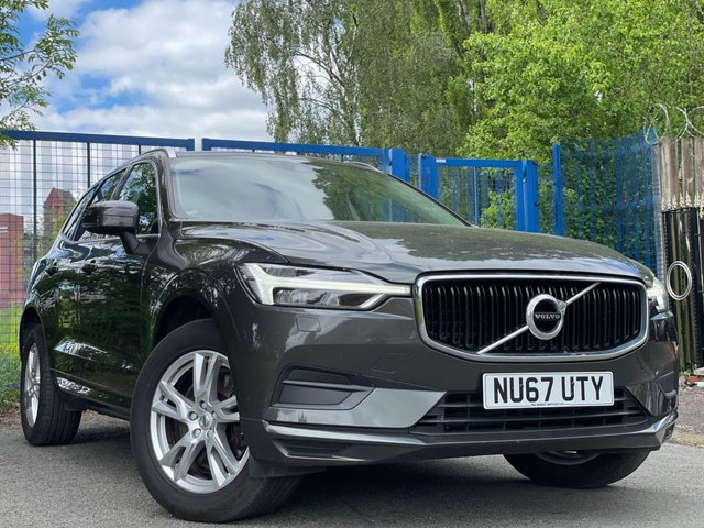 """USED 2017 67 VOLVO XC60 2.0 D4 MOMENTUM AWD 5d 188 BHP 1 OWNER FROM NEW+2 KEYS+NEW SHAPE+4X4 MODEL+18"""" ALLOY WHEELS+CLIMATE CONTROL+MEDIA+PARKING SENSORS+CRUISE CONTROL+LEATHER TRIM+PRIVACY GLASS+NAVIGATION+BLUETOOTH+USB+AUX+DAB"""