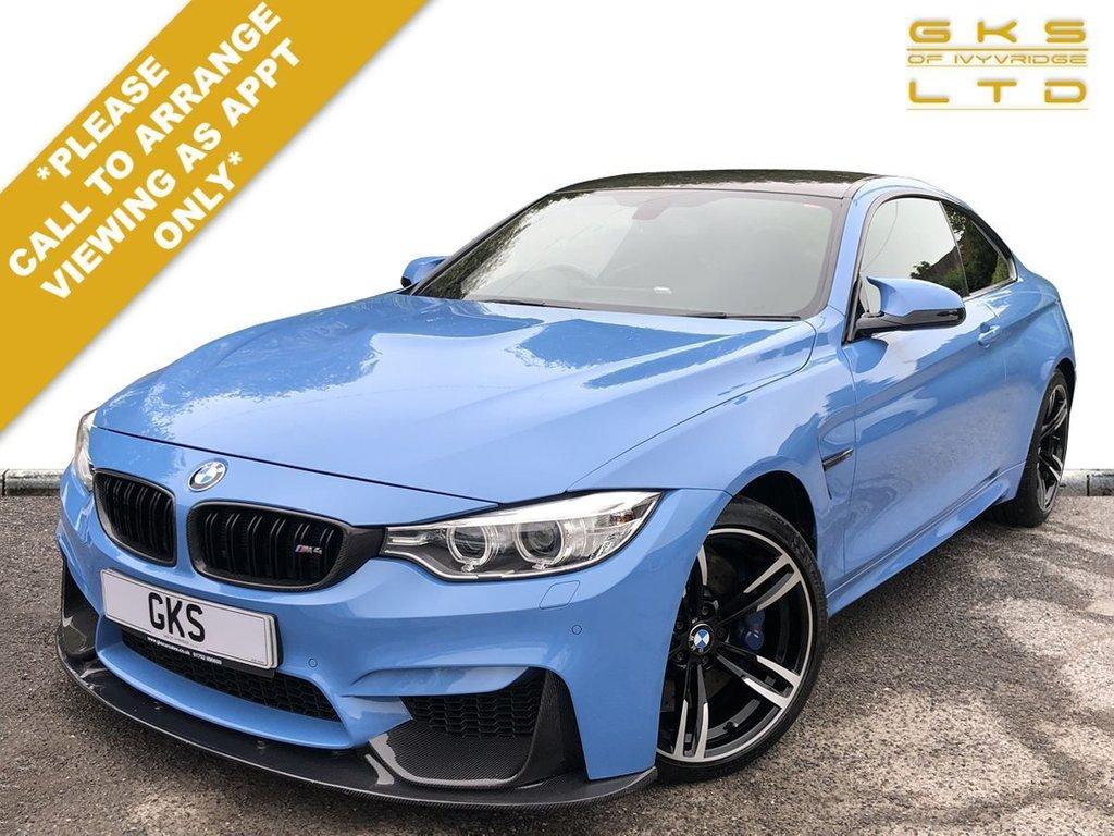 USED 2016 16 BMW M4 3.0 M4 2d 426 BHP ** FULL BMW SERVICE HISTORY | HEAD UP DISPLAY | CERAMIC COATED **