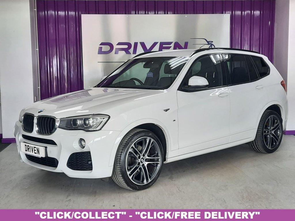 USED 2015 64 BMW X3 2.0 XDRIVE20D M SPORT 5d 188 BHP