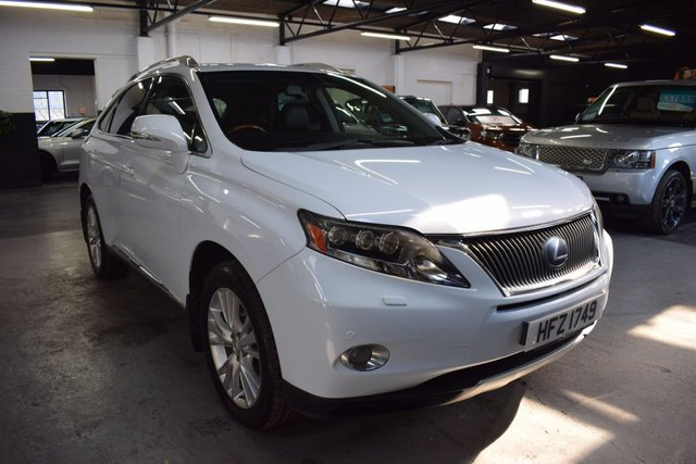 USED 2009 59 LEXUS RX 3.5 450H SE-L 5d 249 BHP HYBRID 4X4  STUNNING LOW MILEAGE EXAMPLE - ONE PREVIOUS KEEPER - TOP SE-L SPEC - LEXUS S/H TO 53K - LEATHER - NAV - MARK LEVINSON SOUND - SUNROOF - PRIVACY GLASS