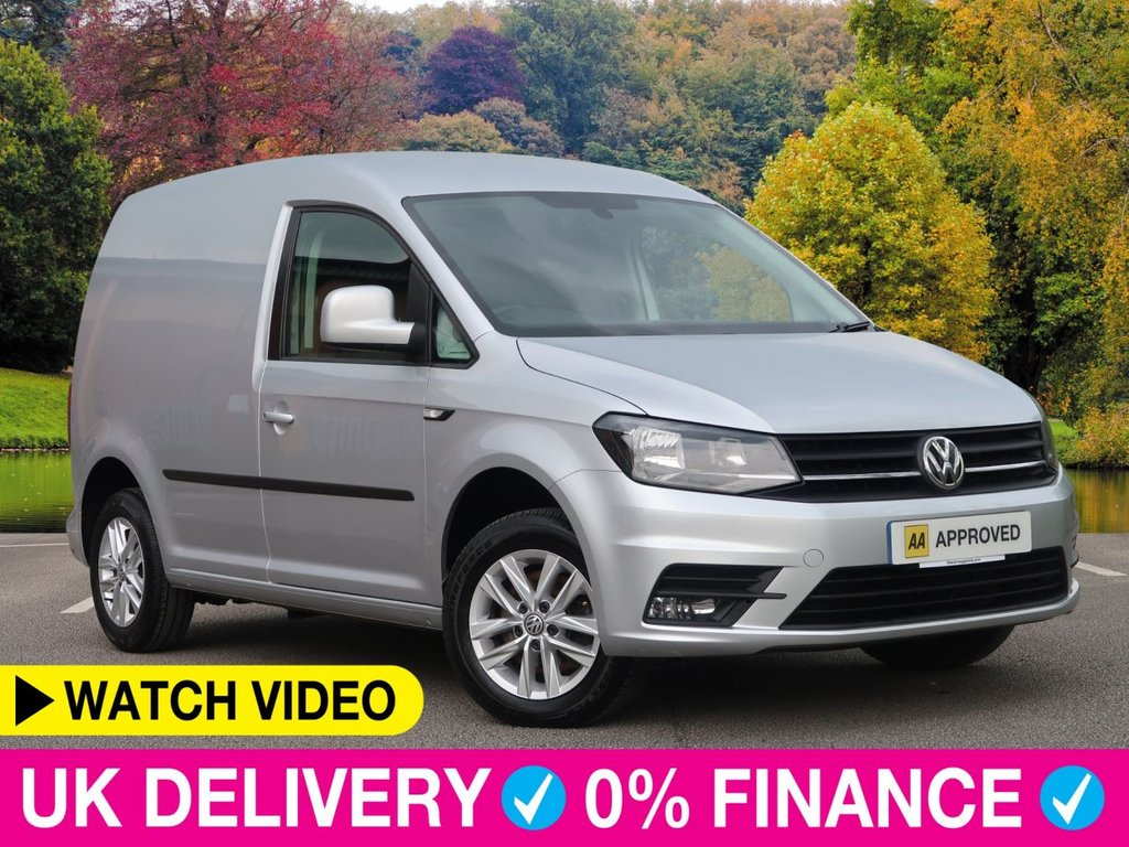 USED 2017 66 VOLKSWAGEN CADDY 2.0 TDi C20 Highline BlueMotion Tech 5dr 1 Owner 1 Owner Air Con Cruise Alloys