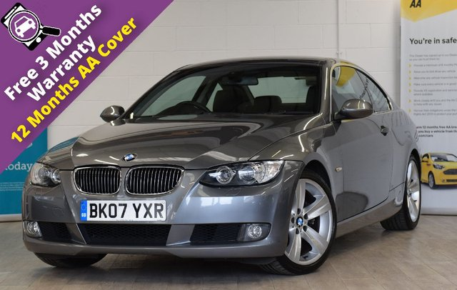 USED 2007 07 BMW 3 SERIES 2.5 325I SE 2d 215 BHP FULL SERVICE HISTORY, LEATHER INTERIOR, MEMORY SEATS, XENON LIGHTS, CRUISE CONTROL, CLIMATE CONTROL, 12 MONTHS MOT