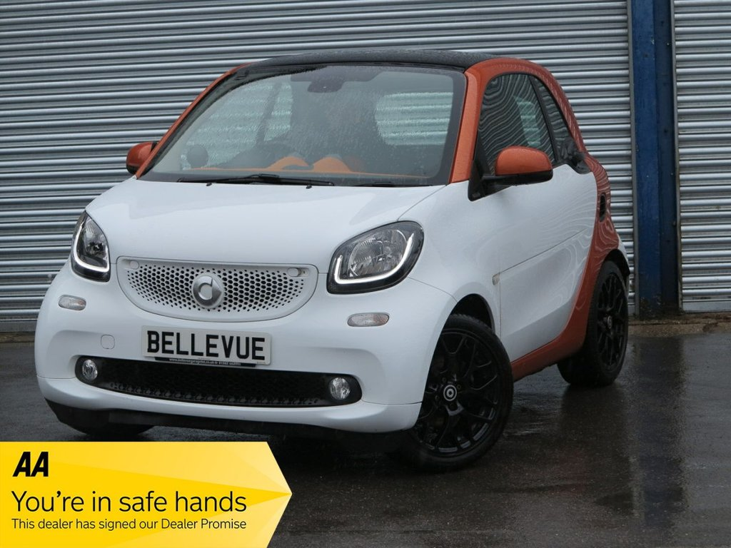 USED 2015 65 SMART FORTWO 0.9 EDITION1 T 2d 90 BHP