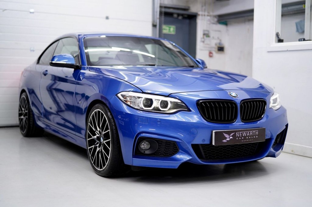 USED 2014 14 BMW 2 SERIES 2.0 220d M Sport Auto (s/s) 2dr Brand New 19' M2 Alloys +Tyres