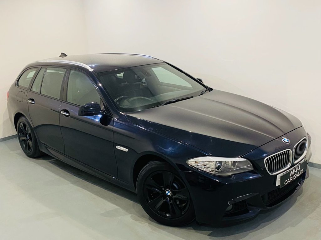 USED 2011 K BMW 5 SERIES 2.0 520D M SPORT TOURING 5d 181 BHP Bluetooth / Aux / Sat Nav / Cruise Control / Isofix / Alloy Wheels