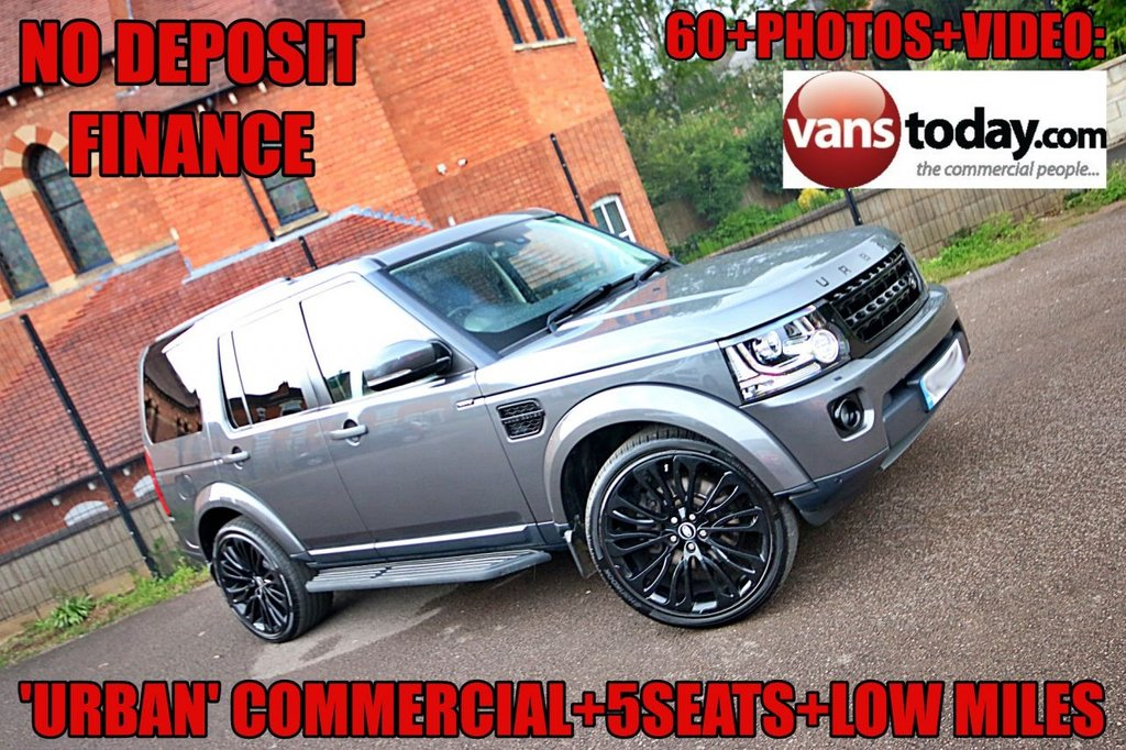 USED 2016 16 LAND ROVER DISCOVERY 3.0 SDV6 COMMERCIAL SE 255 BHP BY URBAN +++ CHECK THIS OUT +++ RARE 5 SEAT LOW MILE 'URBAN' COMMERCIAL