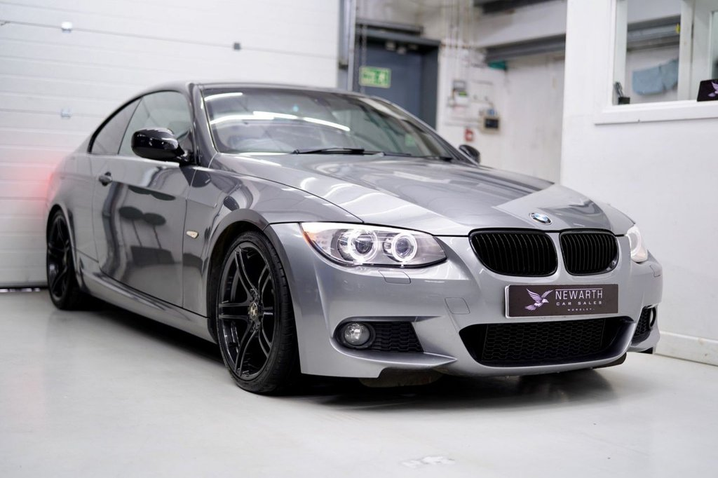 USED 2012 12 BMW 3 SERIES 2.0 320d M Sport 2dr M3 STYLING +NAV   QUAD EXHAUST