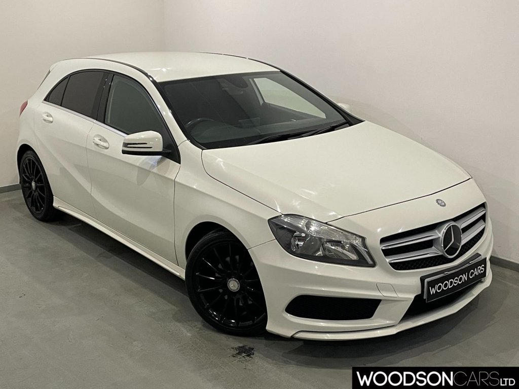 USED 2013 62 MERCEDES-BENZ A-CLASS 1.5 A180 CDI BLUEEFFICIENCY AMG SPORT 5d 109 BHP Bluetooth / Isofix / Privacy Glass / Black Alloy Wheels