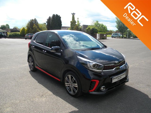 USED 2018 18 KIA PICANTO 1.2 GT-LINE 5d 82 BHP BY APPOINTMENT ONLY - Still Under Kia Warranty Till 2025! Bluetooth, Air Con, AUX & USB Input