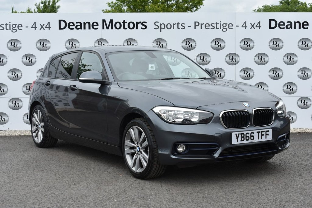 USED 2017 66 BMW 1 SERIES 1.5 116D SPORT 5d 114 BHP LEATHER