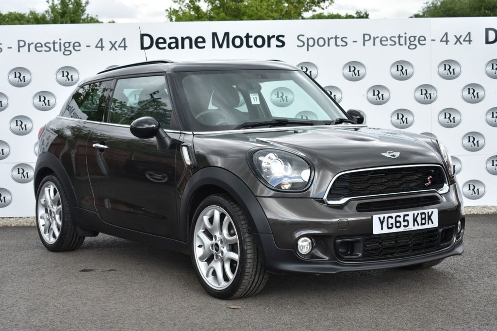 USED 2015 65 MINI PACEMAN 1.6 COOPER S 3d 184 BHP HUGE SPECIFICATION