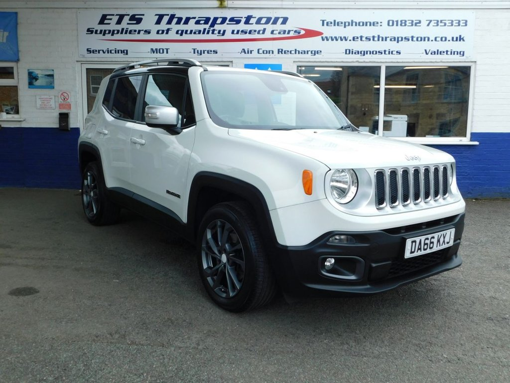 USED 2016 66 JEEP RENEGADE 2.0 M-JET LIMITED 5d 138 BHP