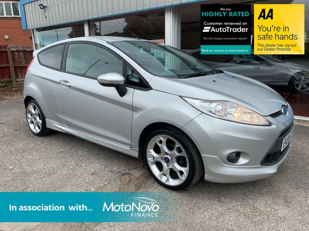 USED 2008 58 FORD FIESTA 1.6 ZETEC S 3d 118 BHP REAR PARKING AID, BLUETOOTH, AIR CONDITIONING, HEATED FRONT SCREEN