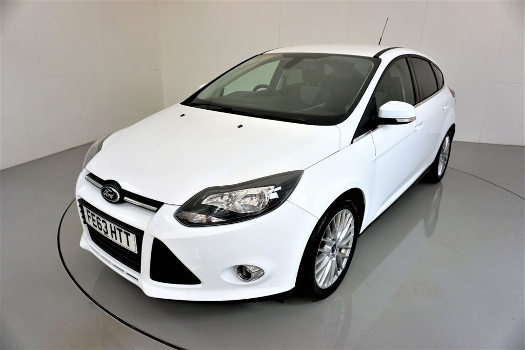 USED 2013 63 FORD FOCUS 1.6 ZETEC TDCI 5d-ALLOY WHEELS-BLUETOOTH-AIR CONDITIONING