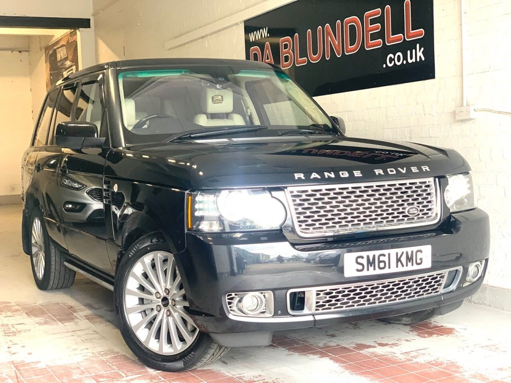 USED 2011 61 LAND ROVER RANGE ROVER 4.4 TDV8 AUTOBIOGRAPHY 5d 313 BHP REAR ENTERTAINMENT+SUNROOF+FSH