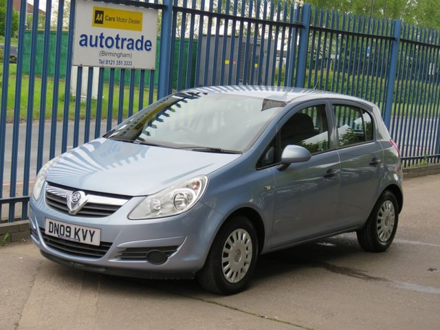 USED 2009 09 VAUXHALL CORSA 1.2 LIFE A/C 5dr 80 Air conditioning-Electric windows-CD player Part exchange available Open 7 days