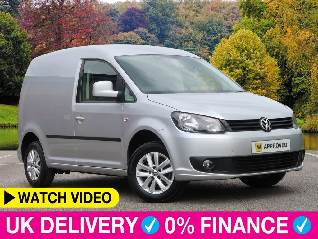 USED 2014 14 VOLKSWAGEN CADDY 1.6 TDi C20 Highline BlueMotion Tech 5dr Low Miles Sat Nav Air Con Cruise Alloys