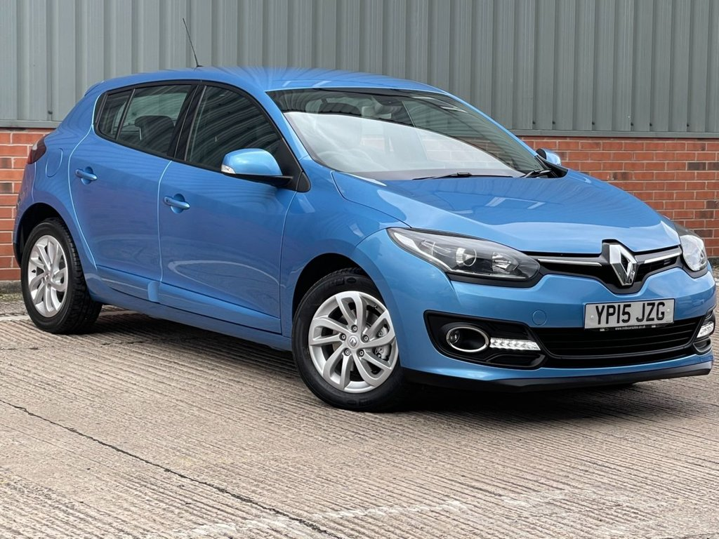 USED 2015 15 RENAULT MEGANE 1.6 DYNAMIQUE TOMTOM VVT 5d 110 BHP EXCELLENT ONE OWNER FROM NEW EXAMPLE