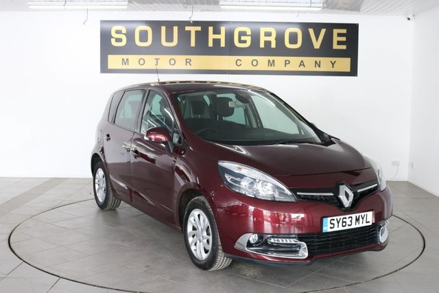USED 2013 t RENAULT SCENIC 1.5 DYNAMIQUE TOMTOM ENERGY DCI S/S 5d 110 BHP