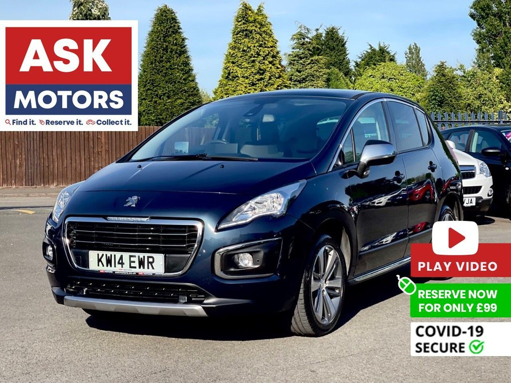 USED 2014 14 PEUGEOT 3008 1.6 HDI ALLURE 5d 115 BHP PANORAMIC ROOF HEADS UP DISPLAY