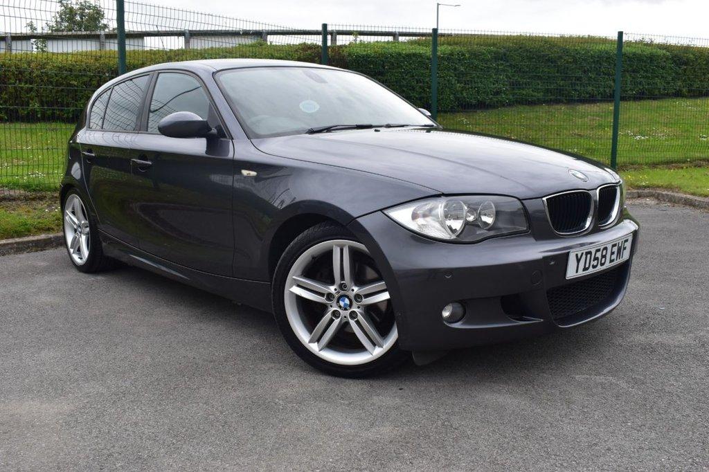 USED 2008 58 BMW 1 SERIES 2.0 120D M SPORT 5d 175 BHP