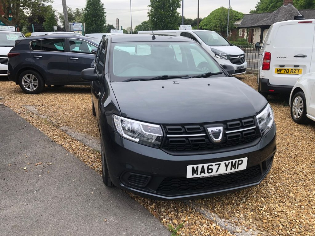 USED 2017 67 DACIA SANDERO 1.0 AMBIANCE SCE 5d 73 BHP Buy Online. Nationwide Delivery. Click  Collect