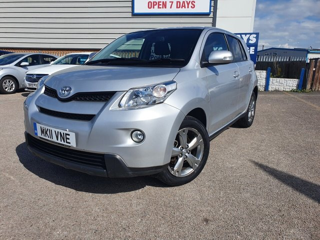 USED 2011 11 TOYOTA URBAN CRUISER 1.4 D-4D 5d 89 BHP 4WD*1 OWNER*BLUETOOTH*TOYOTA SERVICE HISTORY*CD PLAYER