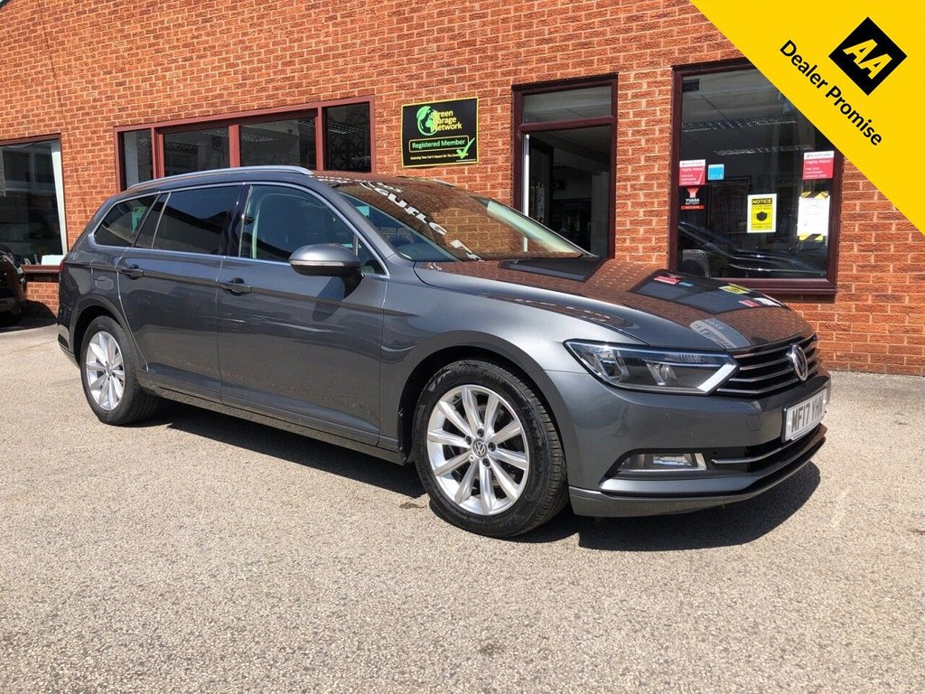 USED 2017 17 VOLKSWAGEN PASSAT 2.0 SE BUSINESS TDI BLUEMOTION TECHNOLOGY 5d 148 BHP Only £20 a year road tax  :  Full service history  :  Bluetooth  :  Sat Nav  :  DAB Radio  :        Cloth upholstery  :  Isofix fittings  :  Air-conditioning  :  Cruise control/Speed limiter  :    Front + rear parking sensors