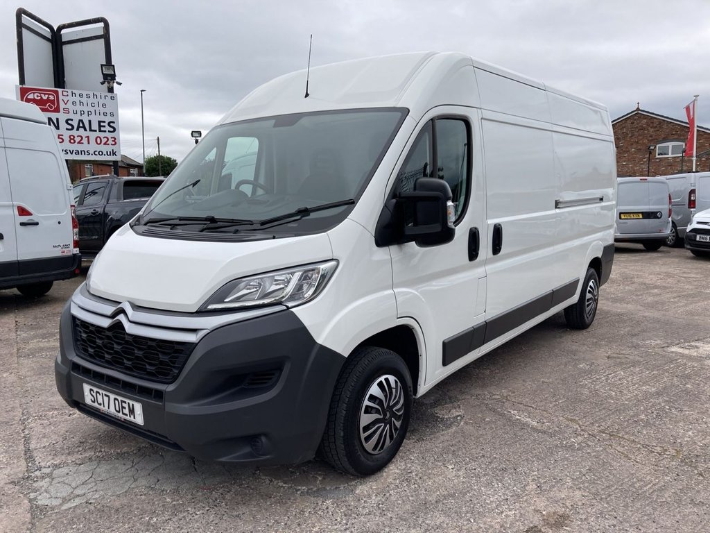 USED 2017 17 CITROEN RELAY 2.0 35 L3H2 ENTERPRISE BLUEHDI 129 BHP FREE WARRANTY INCLUDING RECOVERY AND ASSIST NEW MOT