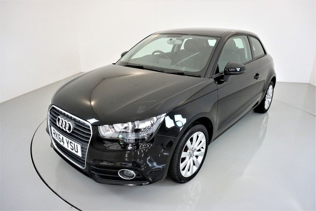 USED 2014 64 AUDI A1 1.6 TDI SPORT 3d-2 FORMER KEEPERS-BLUETOOTH-ALLOY WHEELS-AIR CONDITIONING