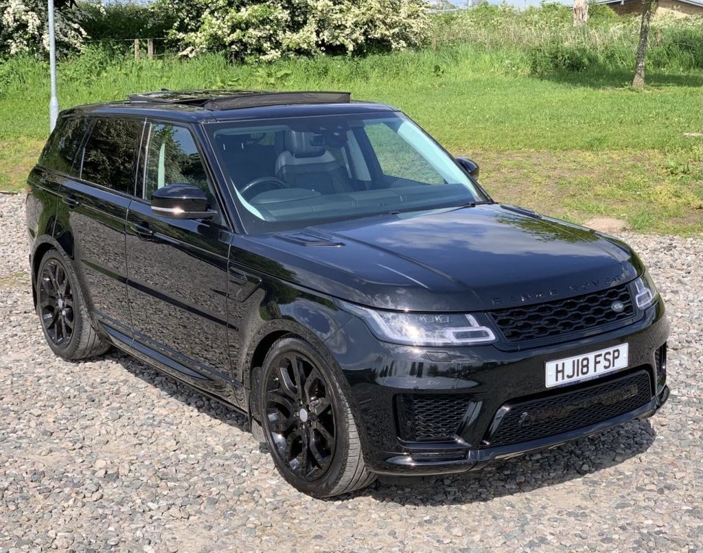USED 2018 18 LAND ROVER RANGE ROVER SPORT 3.0 SDV6 AUTOBIOGRAPHY DYNAMIC 5d 306 BHP Free Next Day Nationwide Delivery