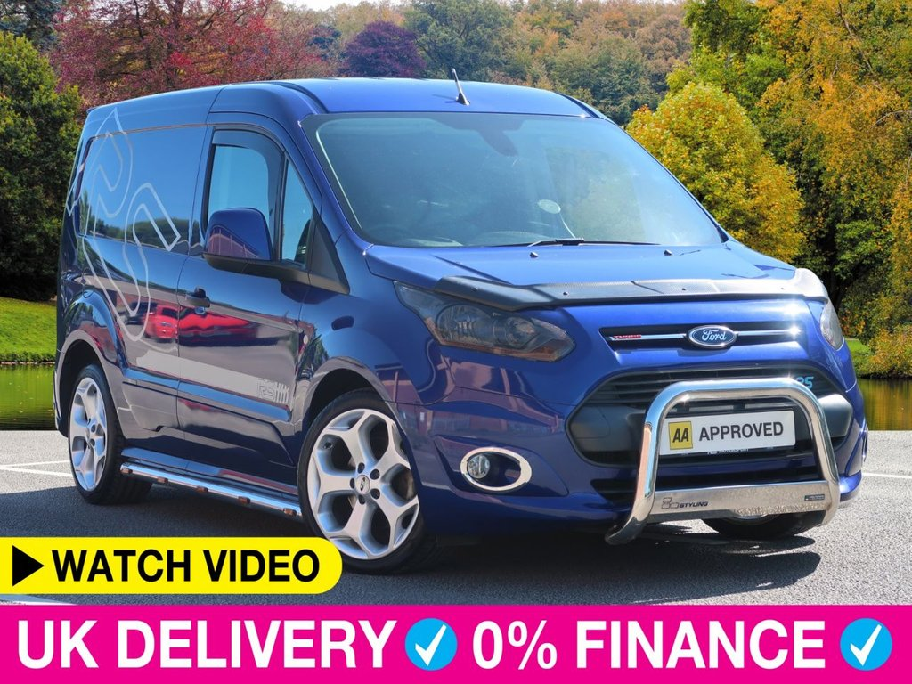 USED 2014 14 FORD TRANSIT CONNECT 1.6 TDCi Limited RS Sport Custom Van 5dr Full RS Sport Conversion