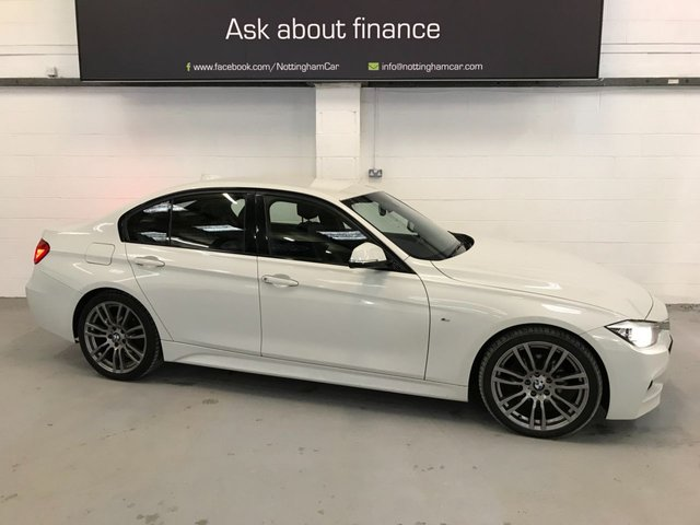 USED 2013 63 BMW 3 SERIES 2.0 318D M SPORT 4d 141 BHP